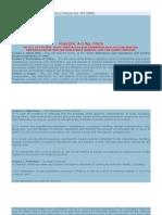 Toxic Substances and Hazardous Waste Act (RA 6969)