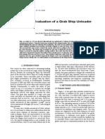 Fatigue Life Evaluation of a Grab Ship Unloader-macara.pdf