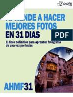 Fotografia Aprende a Hacer Mejores Fotos en 31 Dias