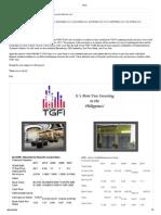 TGFI Juan Newsletter - First Issue - March 18, 2013