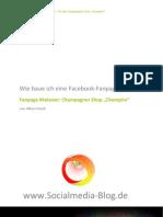 Facebook-Fanpage für Markenauftritt und SEO optimieren