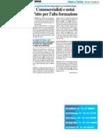 Università commercialisti e notai, patto per l'alta formazione - Il Resto del Carlino del 10 dicembre 2014