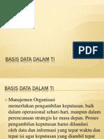 Basis Data Dalam SI