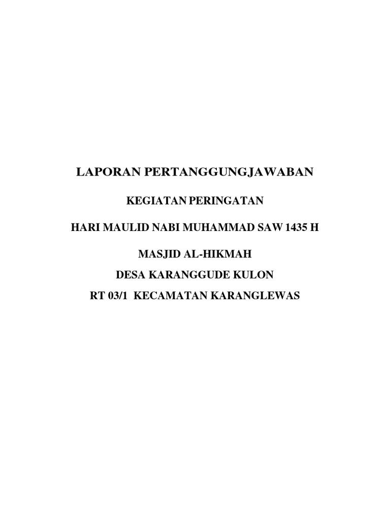 Lpj Maulid Nabi