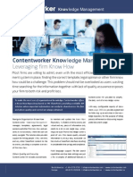 Contentworker Knowledge Management