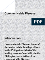 Communicable Disease Report