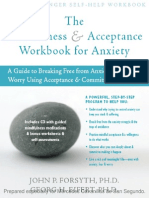 The Mindfulness & Acceptance Workbook for anxiety