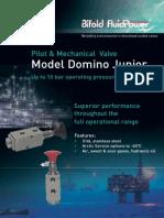 Domino_junior_solenoid 3 Way Pilot Operated, Spring Return