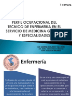 Perfil Ocupacional de Enfermeria
