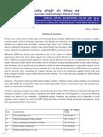 PR - Caution to Investors