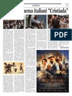 """""""Cristiada"""" - articolo"""