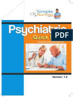 Psychiatric Quick Notes Full