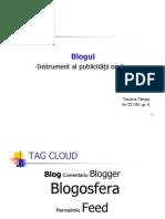 Blogul-Instrument Al Publicitatii on-line