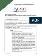 gmit tutorial paper junior cert reform