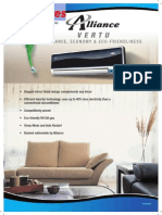 MS Alliance Air Vertu Airconditioner