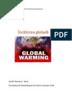 incalzirea globala geogra