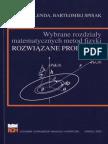 Lenda Spisak Wybrane rozdziały metod matematycznych fizyki