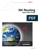 NX Routing - Quick Start Guide