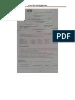 Examen de Fin de Formation Cctp 2014 Pratique Variante 14