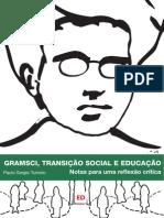 Gramsci, transição social e educação
