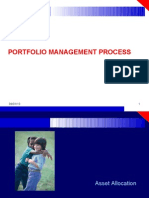 Portfolio Management Process
