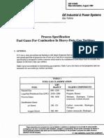 GE Turbine Gas Spec