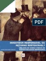 Investidor responsável ou retorno sustentável? Uma análise sobre o ISE – Índice de Sustentabilidade Empresarial