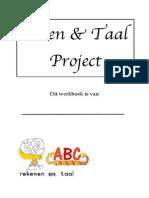 reken en taal project werkboek aanpak 1