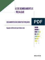 Escoamentos Em Condutos Forcados PDF
