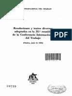 09739(1952-35) Acta y resoluciones OIT