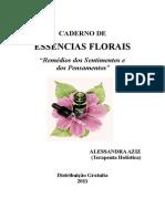 Caderno de Essencias Florais