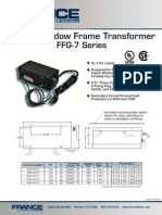 FFG-7 Indoor Window Fram Transformer