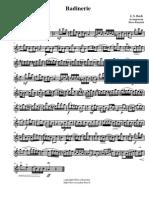 Bach Johann Sebastian Badinerie 31922