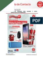 Vive La Navidad Con Huawei y Esta Espectacular Promoción 2014