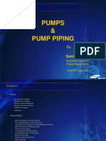 Pump & Pump Piping