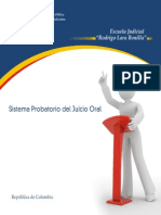 Sistema Probatorio Del Juicio Oral - Colombia