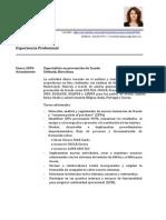 CV Español 2014