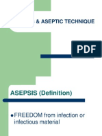 1 Asepsis & Aseptic Technique