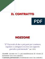 3 Il contratto