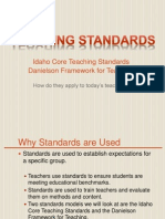 idaho teaching standards