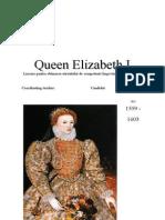 Queen Elizabeth I Atestat Engleza
