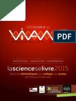 Programme La science se livre 2015