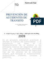 PROYECTO networkvial carmen 2009