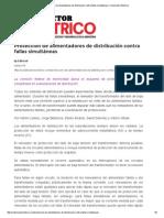 Protección de Alimentadores de Distribución Contra Fallas Simultáneas _ Constructor Eléctrico