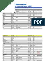 Prelim Timetable 2015