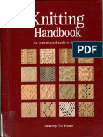 Knitting Handbook an Instructional Guide to Knitting