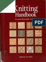 Knitting Handbook an Instructional Guide to Knitting