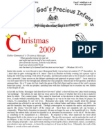 Helpers of God's Precious Infants Christmas 2009 Newsletter