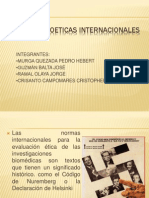 NORMAS BIOETICAS INTERNACIONALES MURGA.pptx