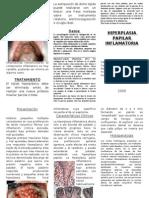 Hiperplasia Papilar Inflamatoria